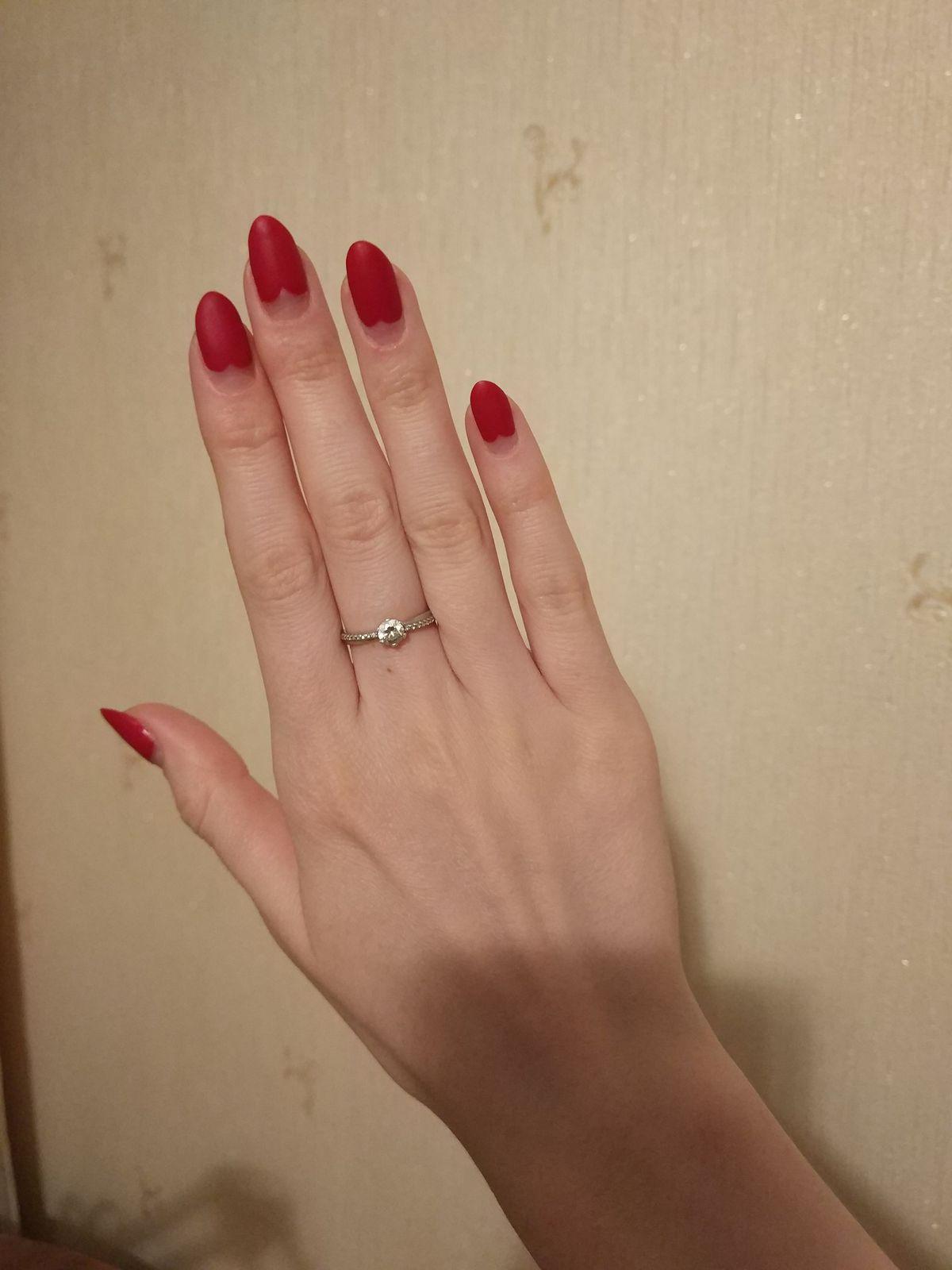 Серебряное кольцо - приятный подарок!