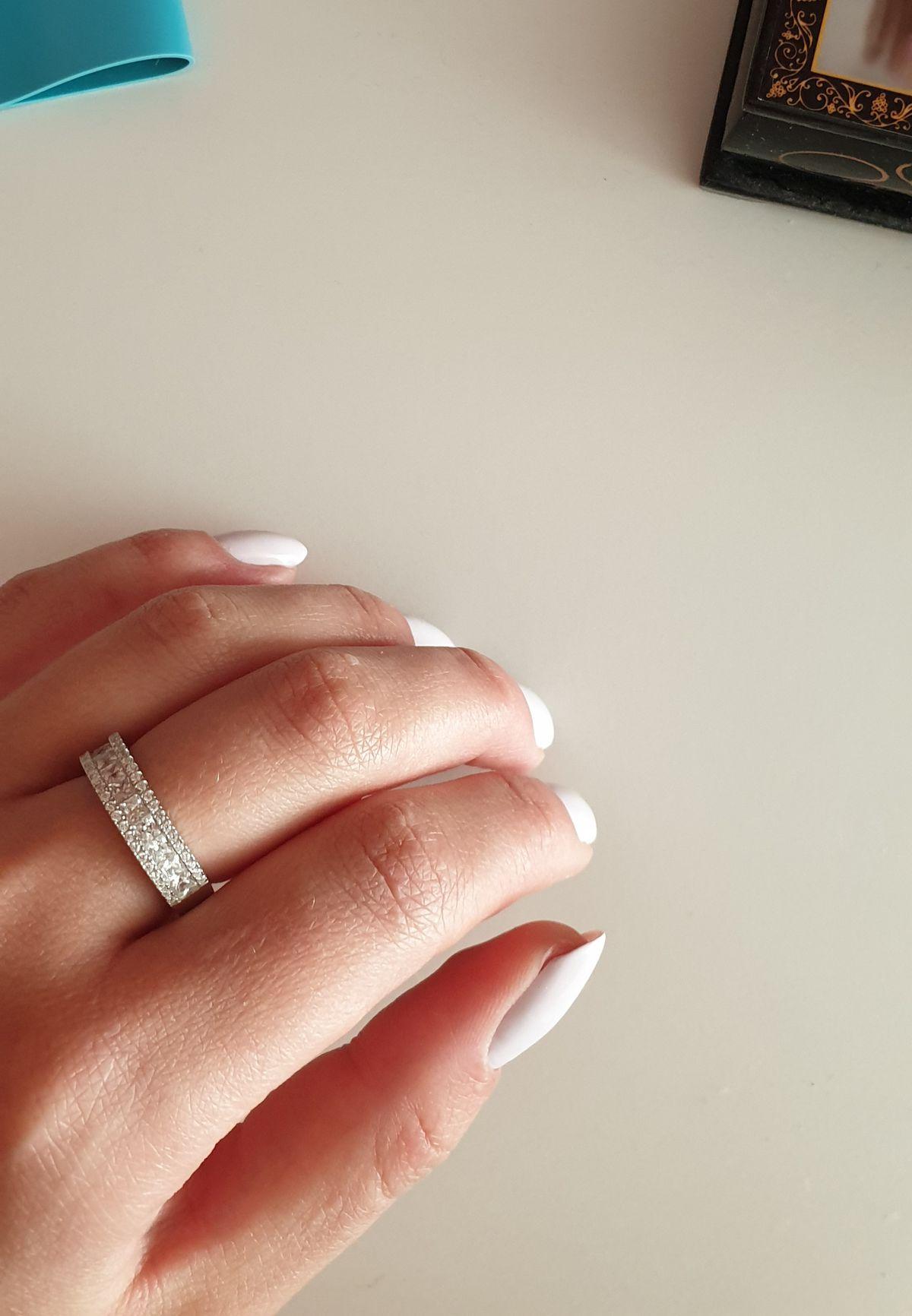 Ну очень красивое кольцо 😍😍😍