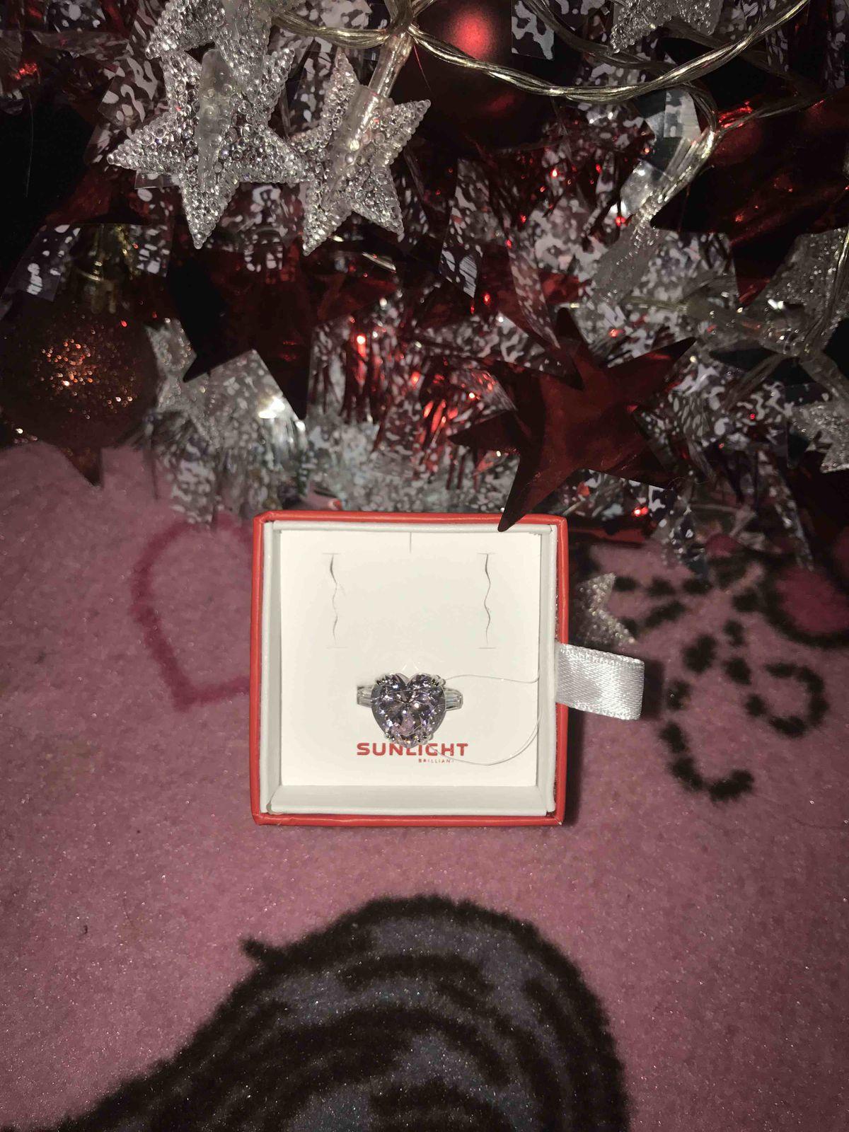 Очень романтичное и нежное кольцо