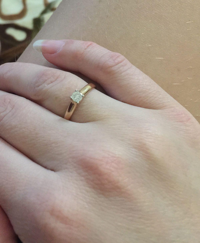 Мой первый бриллиант.