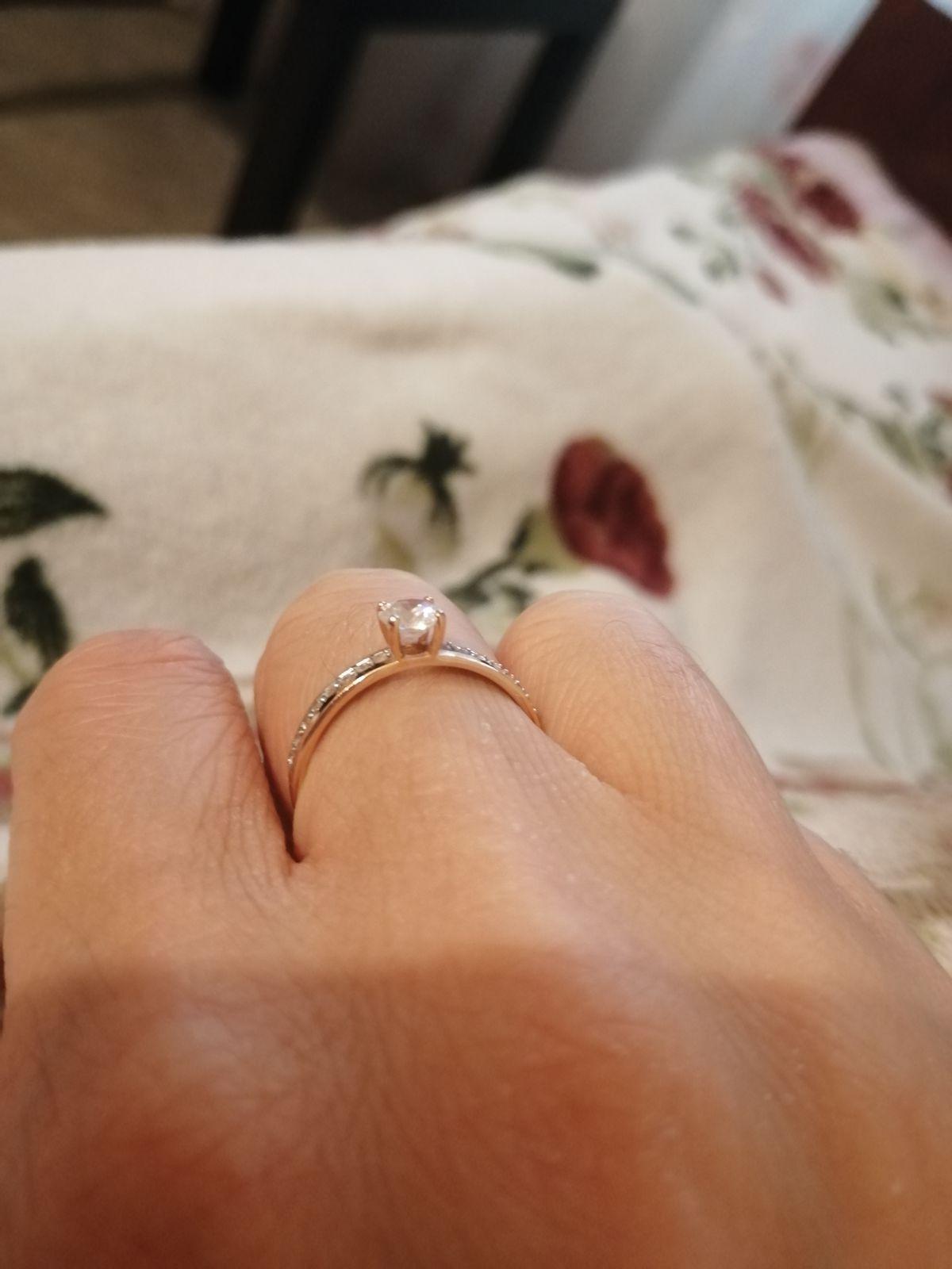 Очень красивое кольцо, которое не оставит равнодушным