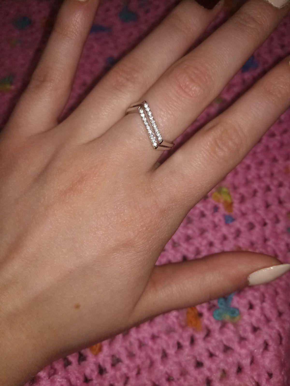 Стильное кольцо на каждый день