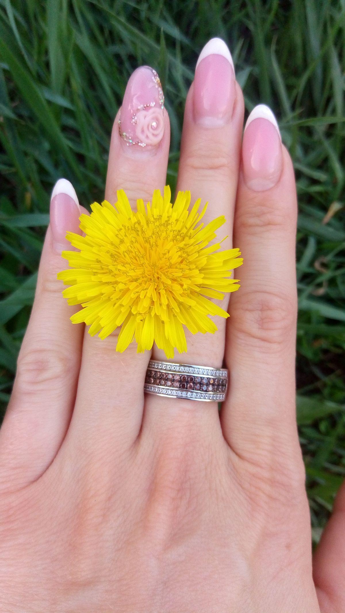 Набор кольцо и сережки