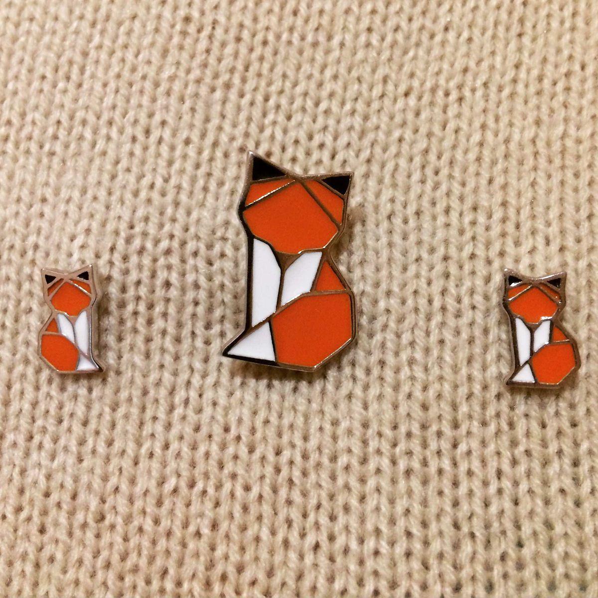 Миленькие сережки лисички!
