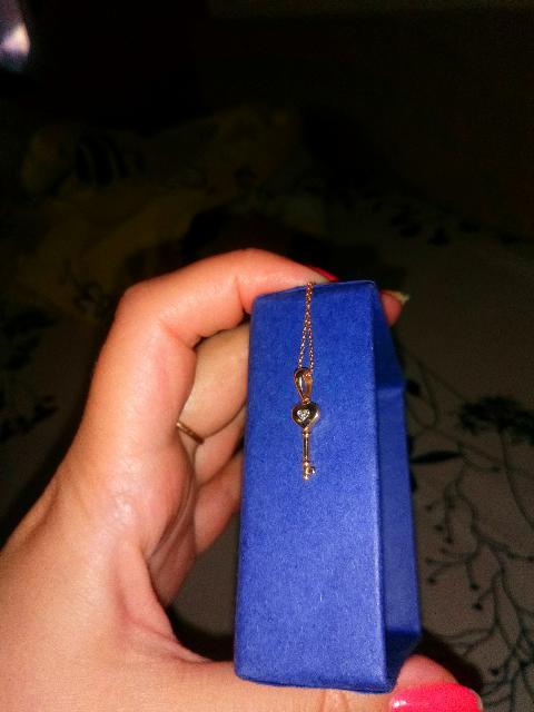 Ключик для дочки!