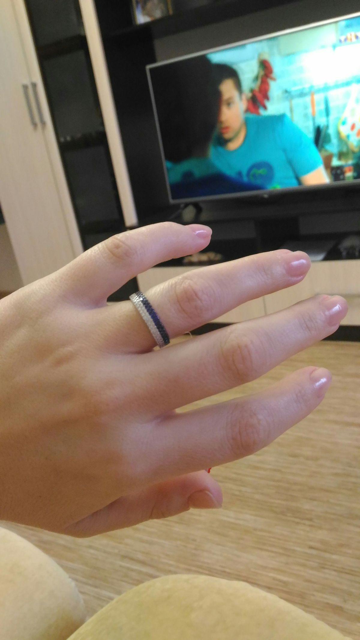 Серебренное кольцо!