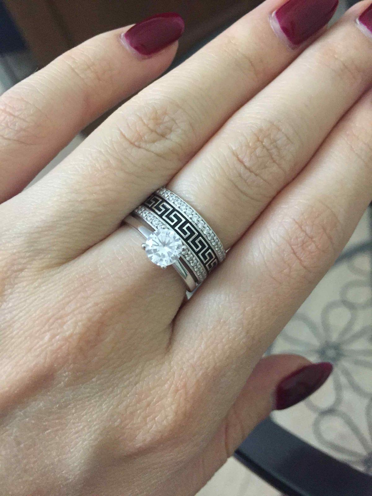Два кольца в одном!