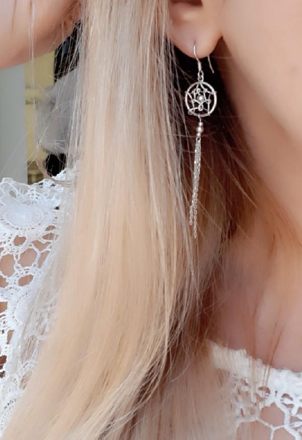 Любимые невесомые серьги)