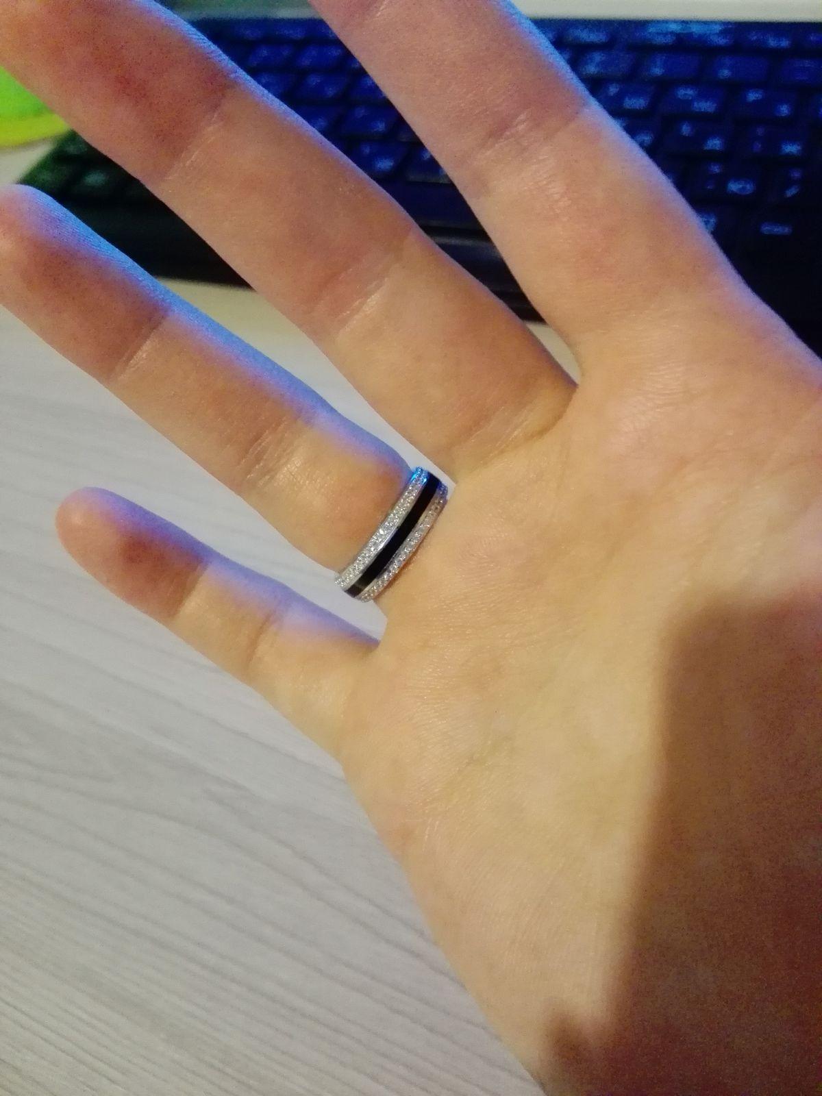 Кольцо из магазина на Сенной