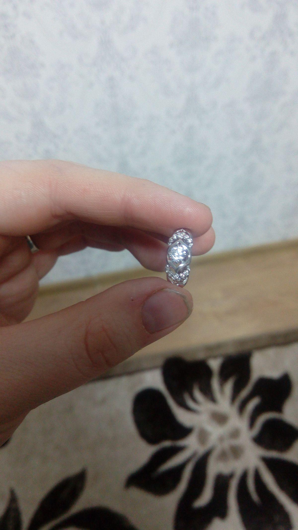 Сережки серебряные