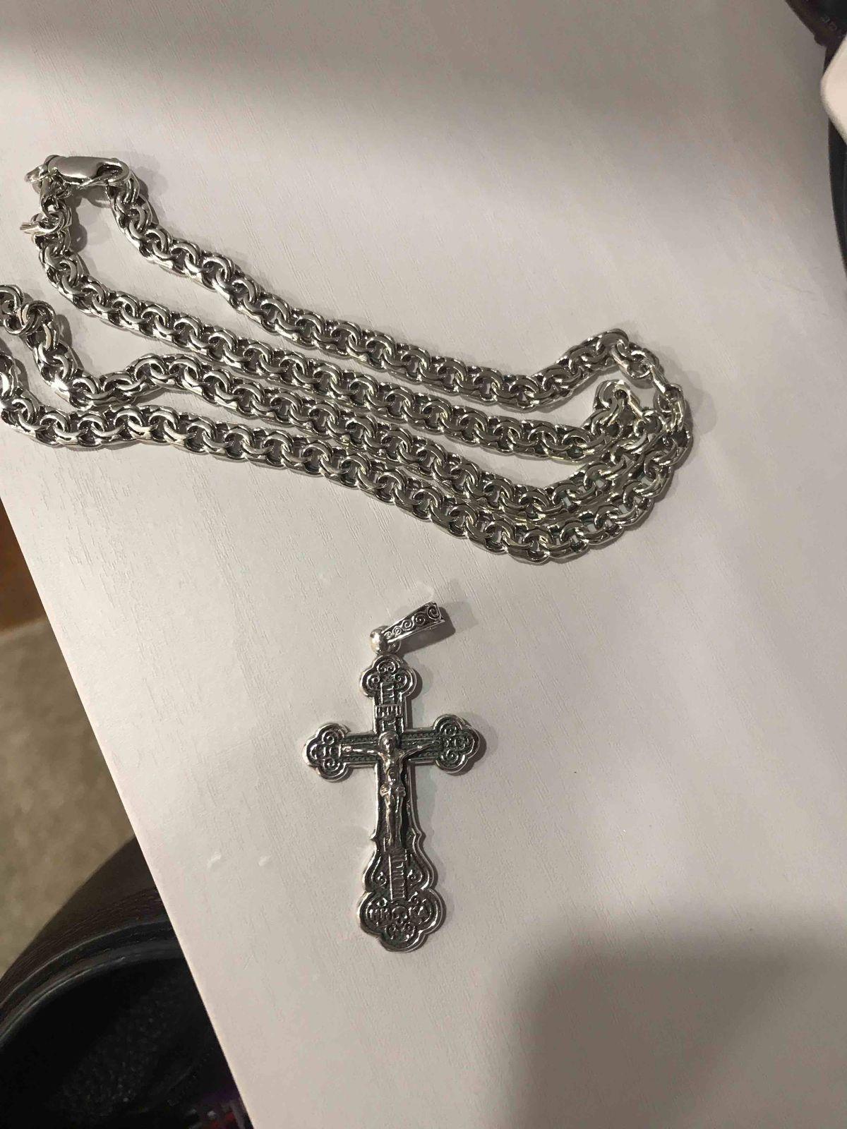 Крест к цепочке