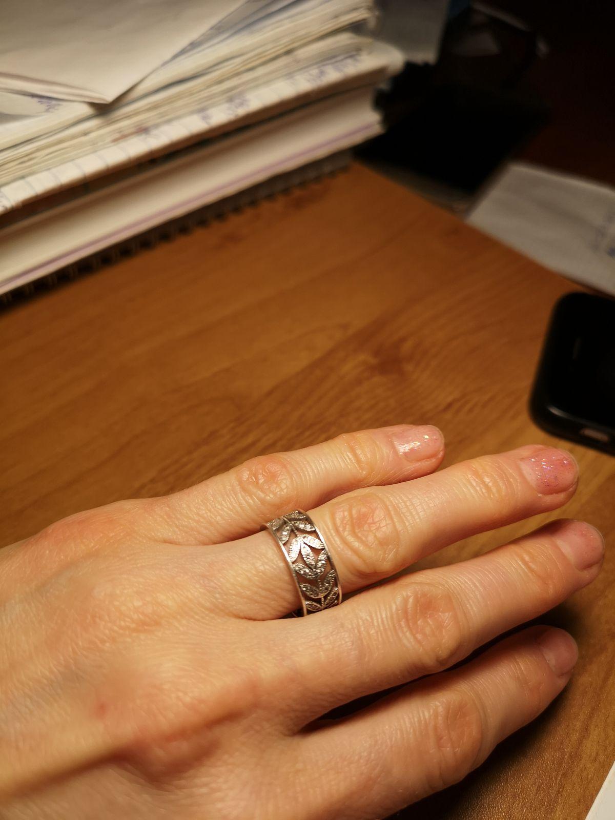 Изящное кольцо, любимое