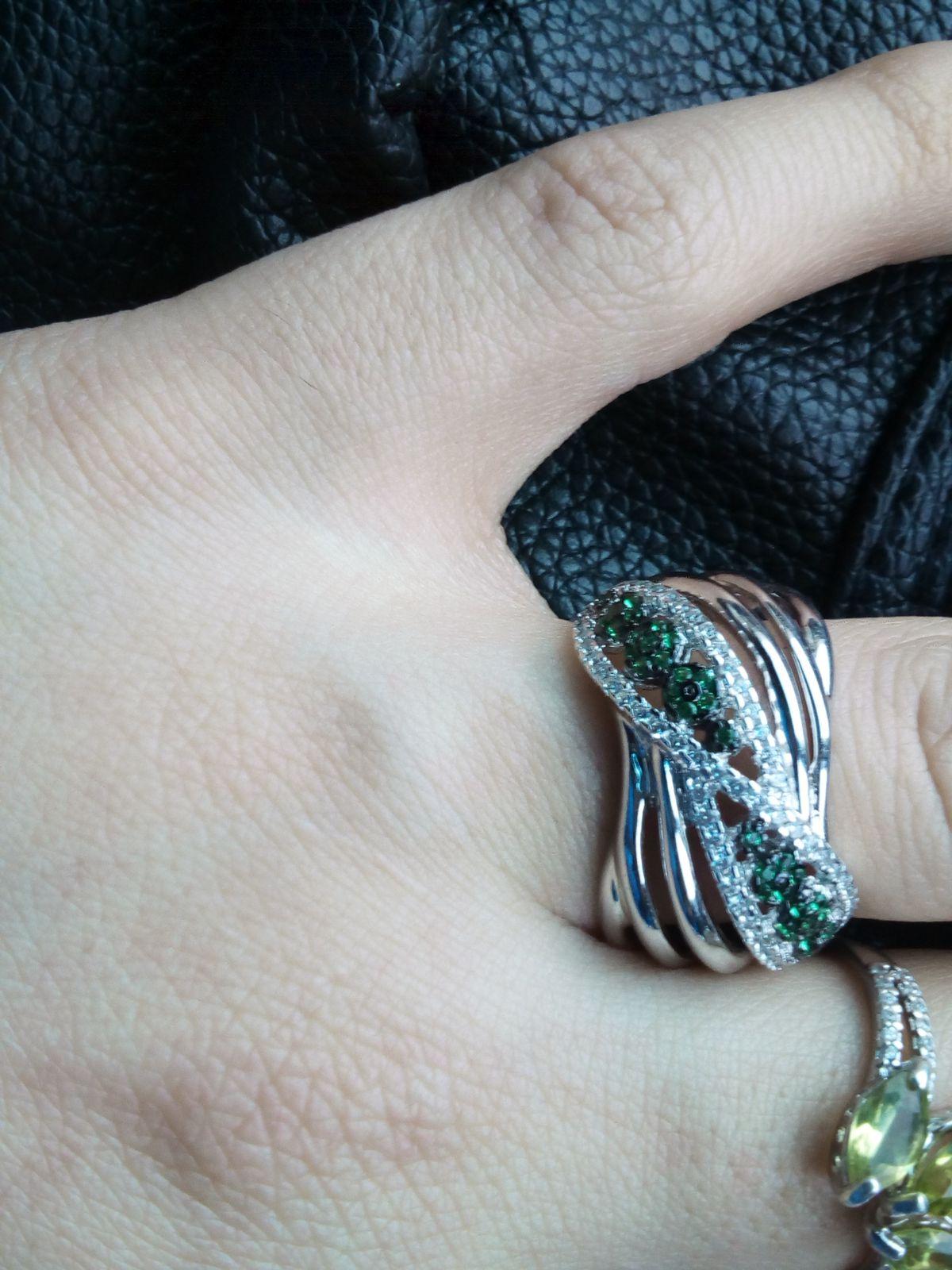 Кольцо с алпанитами