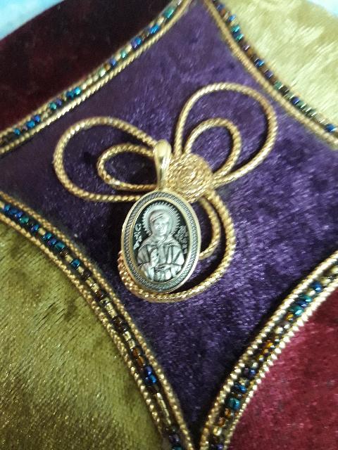 Серебро с позолотой