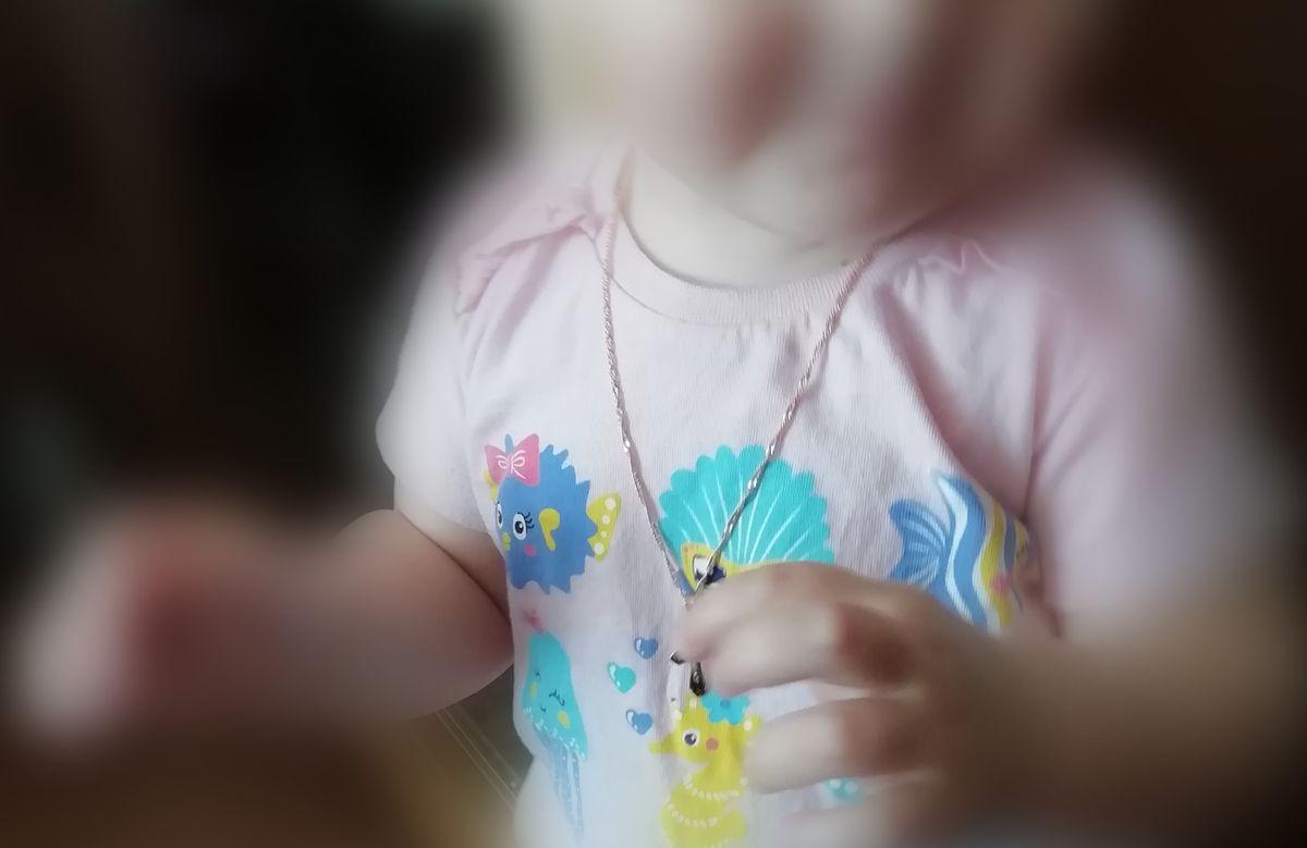 Цепь на годик дочери)