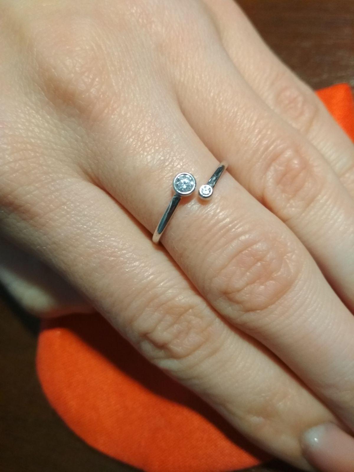 Удобное и милое кольцо