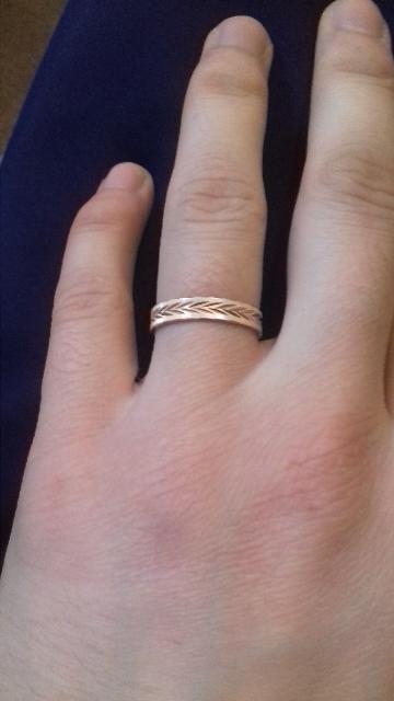 Кольцо обручальное.