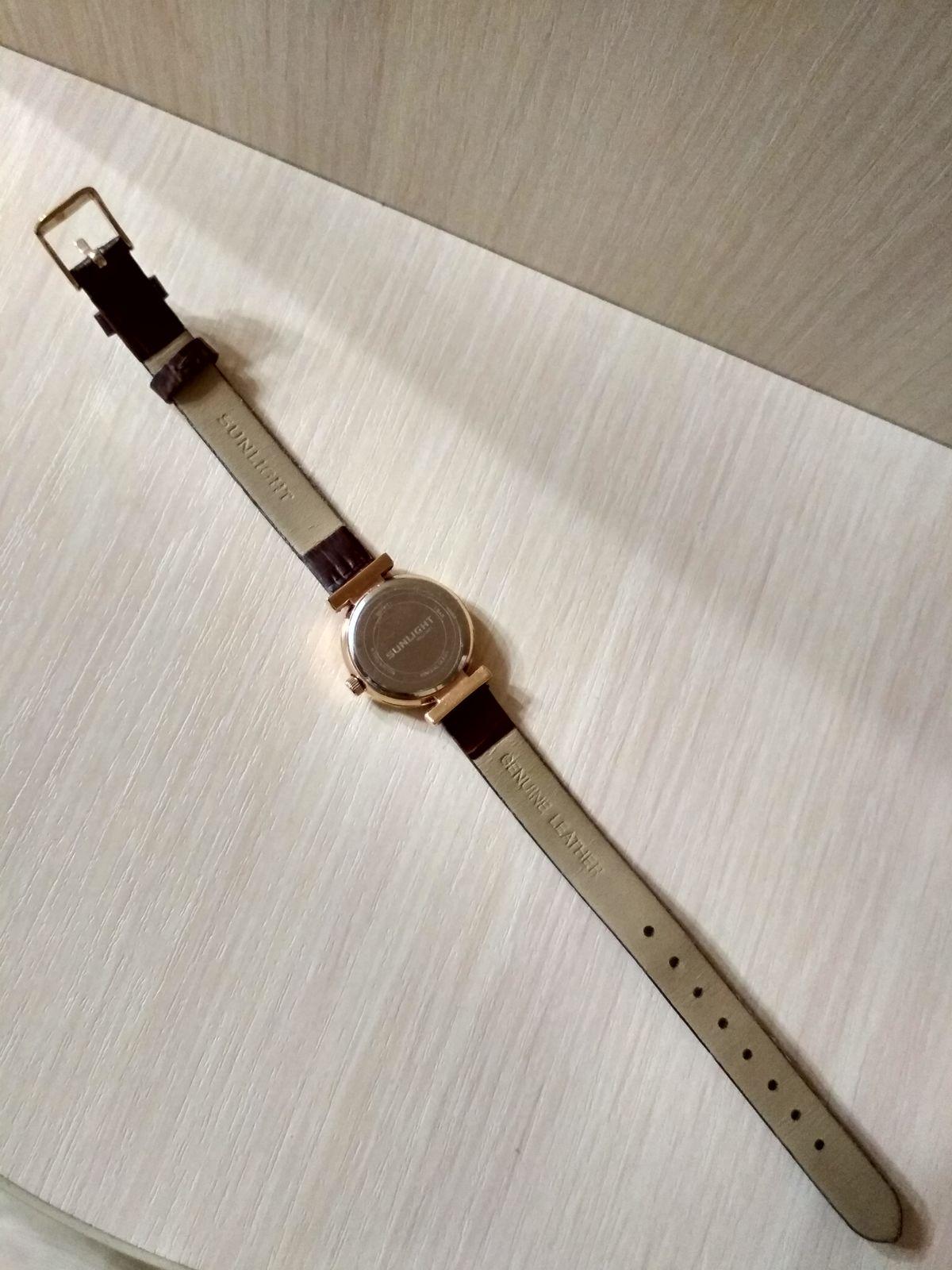 Потрясающие элегантные часы от САНЛАЙТ!