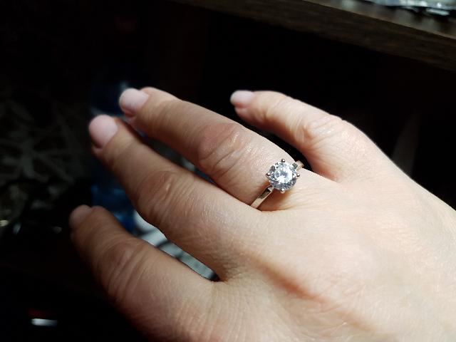 Приобрела кольцо по распродаже.