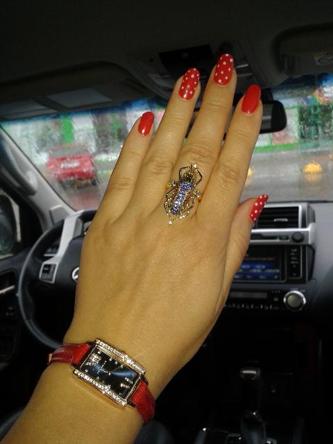 Потрясающее кольцо♡♡♡
