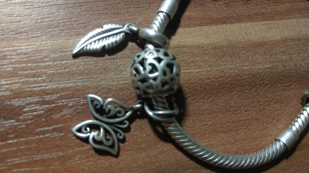 Серебряная подвеска- шарм