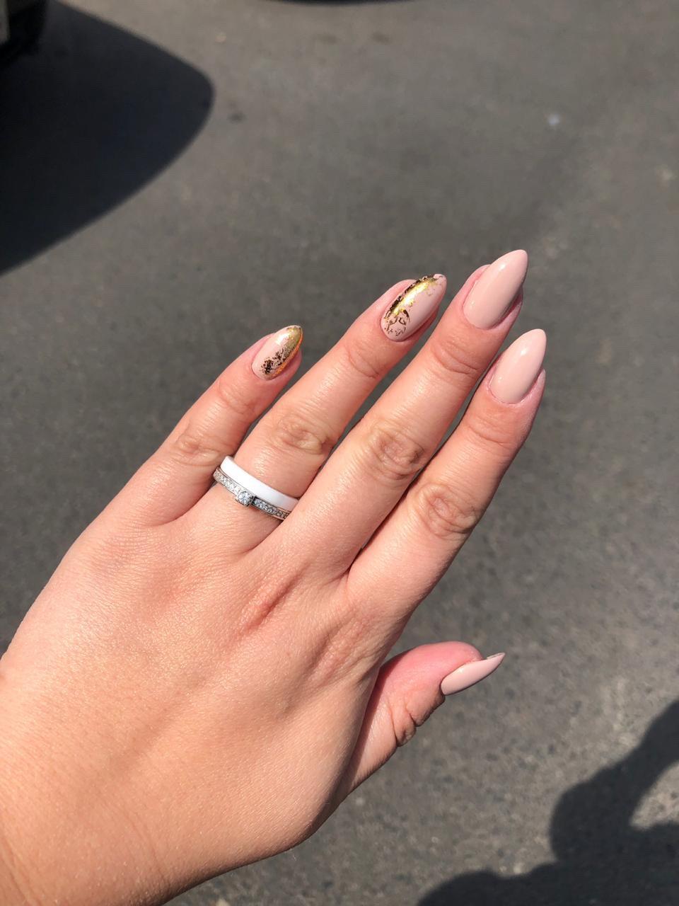 Нежное, но эффектное кольцо