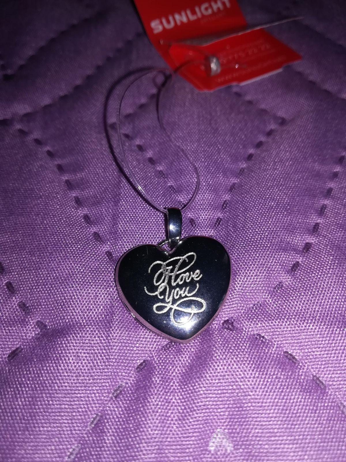 Медальон сердце