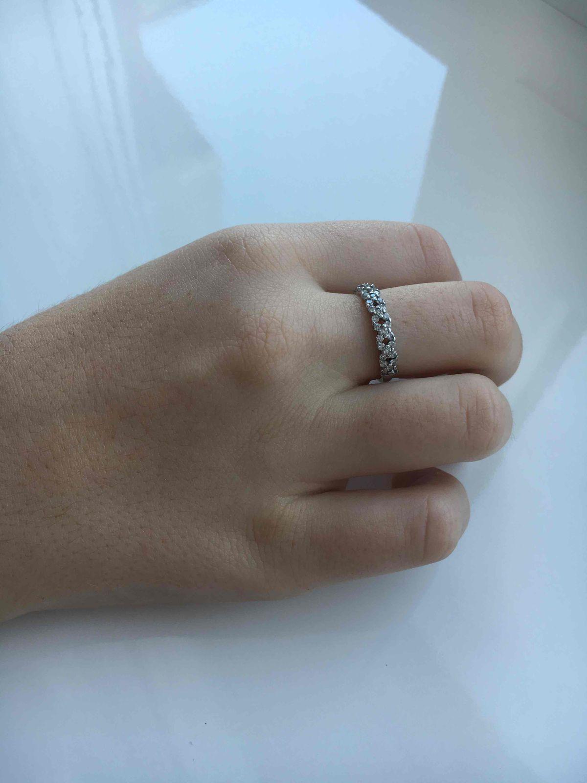 Кольцо серебряное Sokolov с фианитами.