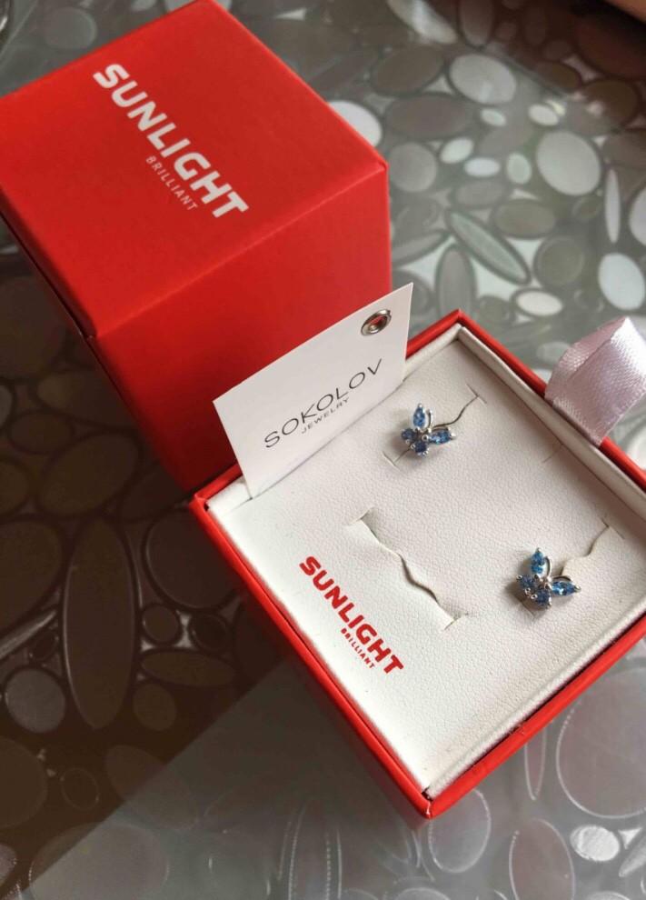 Серебряные бабочки от sokolov