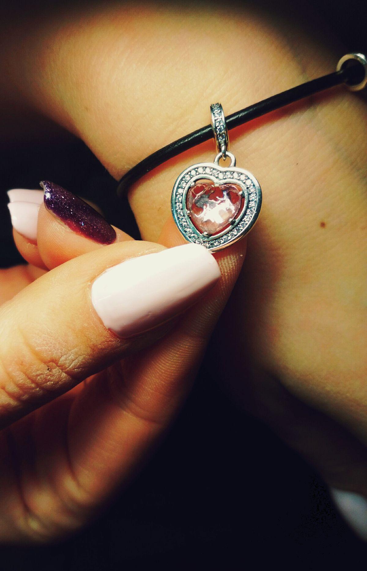 Шарм(сердце с камнем)