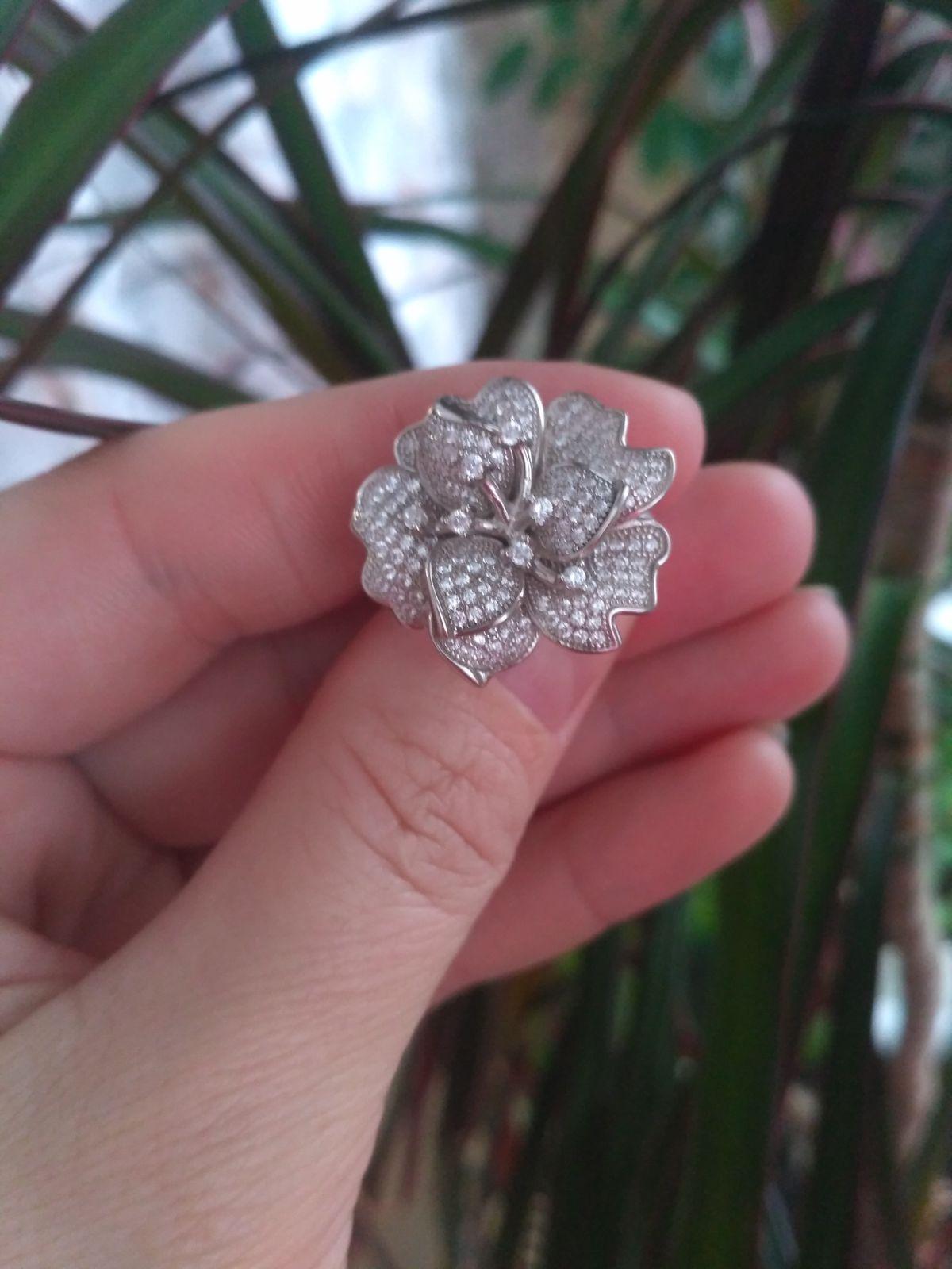 Серебряный цветок