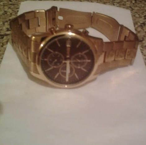 Часы мужские Tamer в золотом исполнении.
