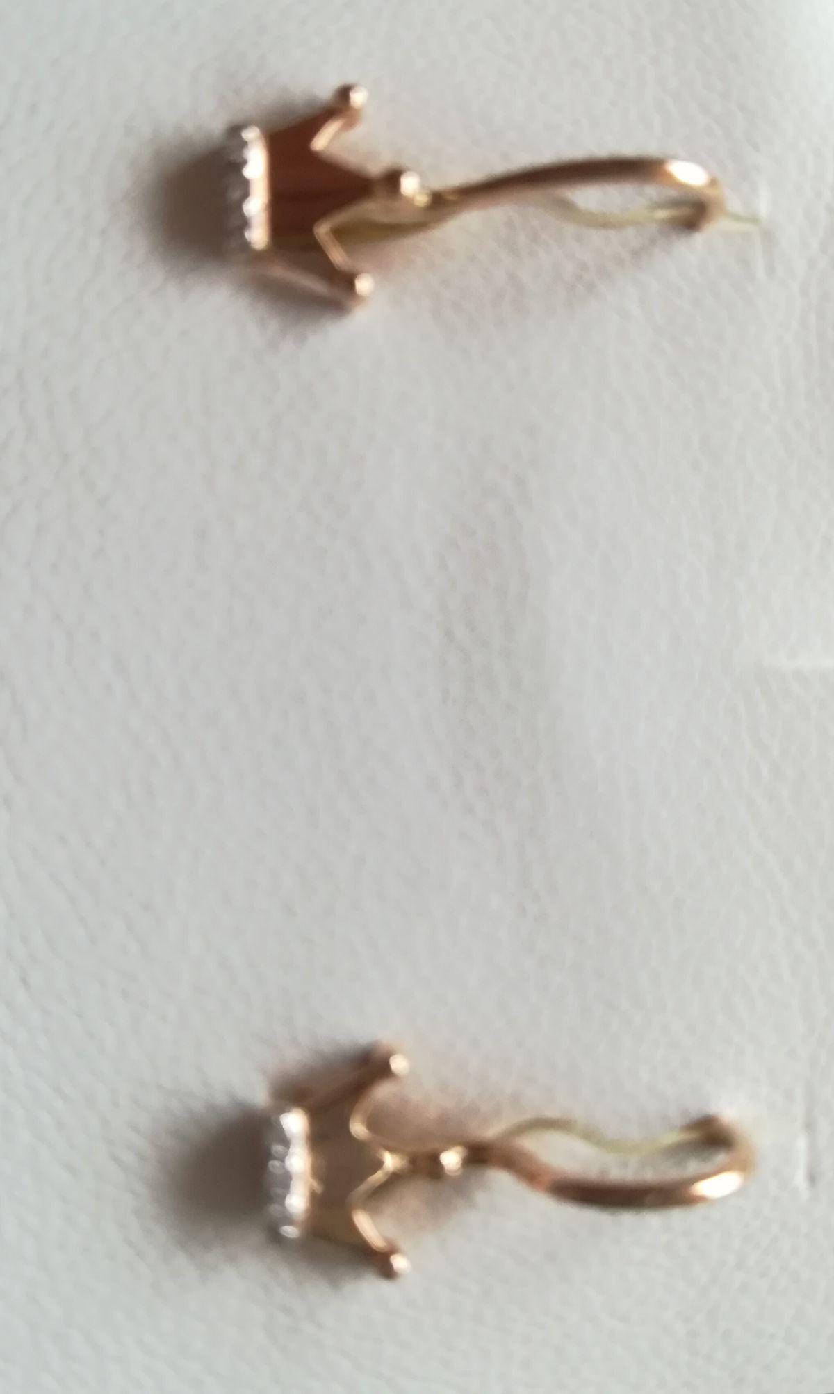 Серёжки для принцессы.