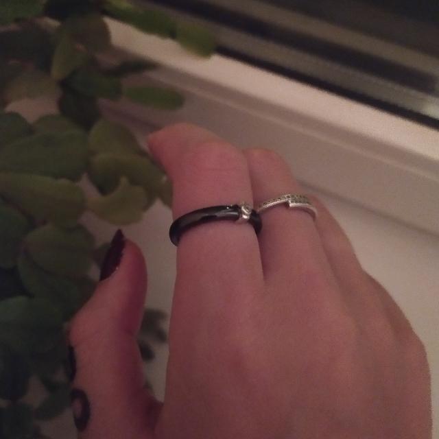 Давно хотела керамическое кольцо