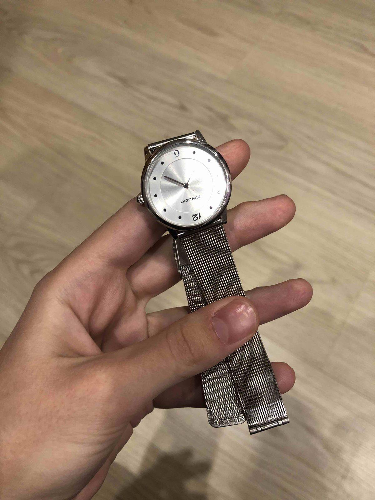 Часы «под серебро»