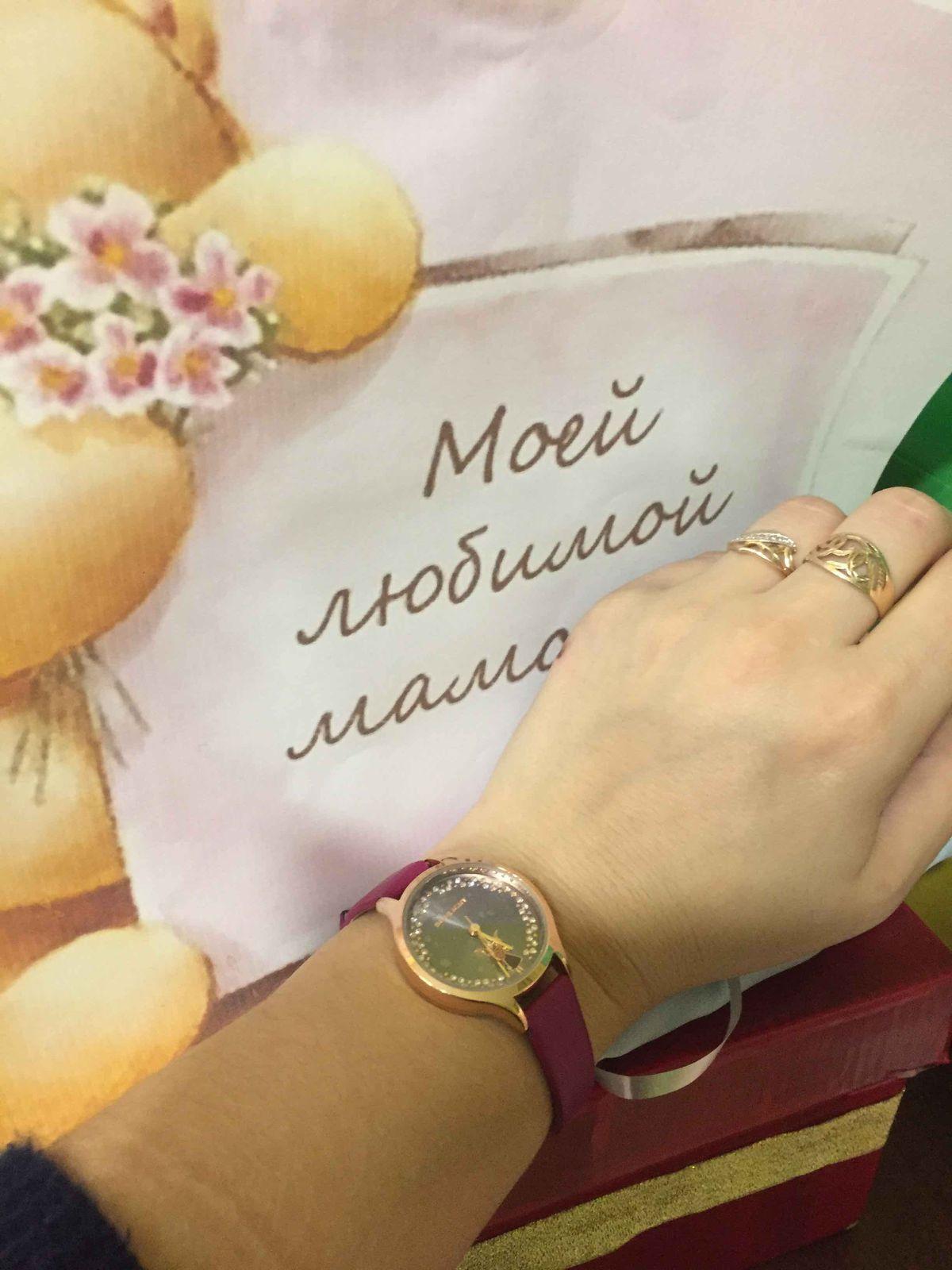 Часы очень красивые и удобные