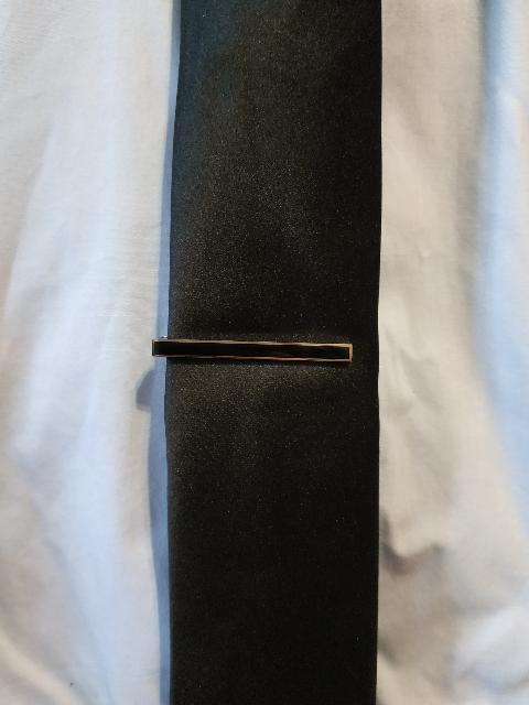 Зажим для галстука стальной