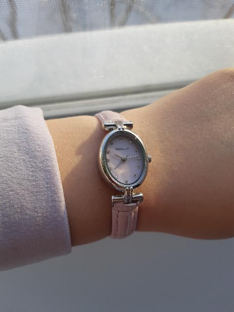 Нежно розовые часы !!🤩😍❤