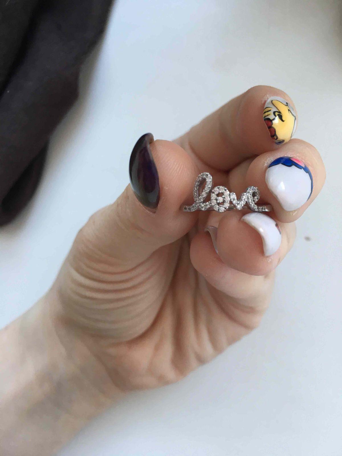 Маленькое и удобное кольцо :)