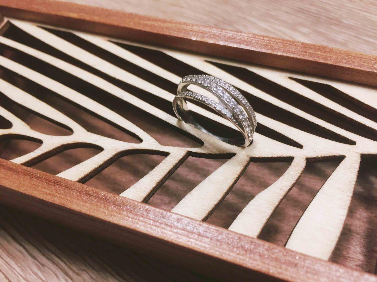 Идеальное колечко из серебра на каждый день по очень привлекательной цене!!