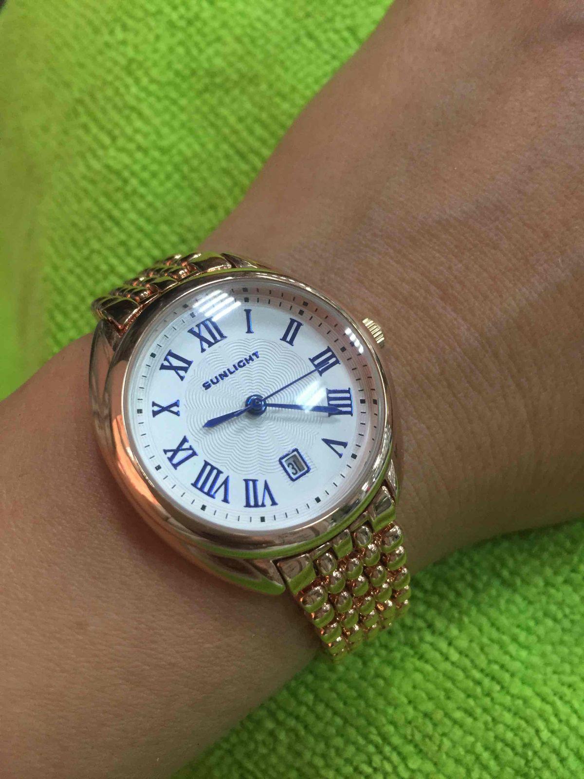Часики  под золото