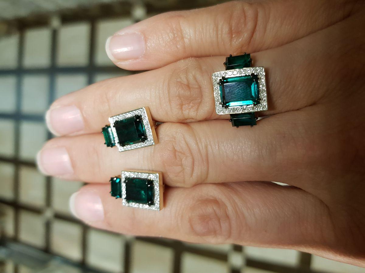 Роскошное ультрамодное кольцо