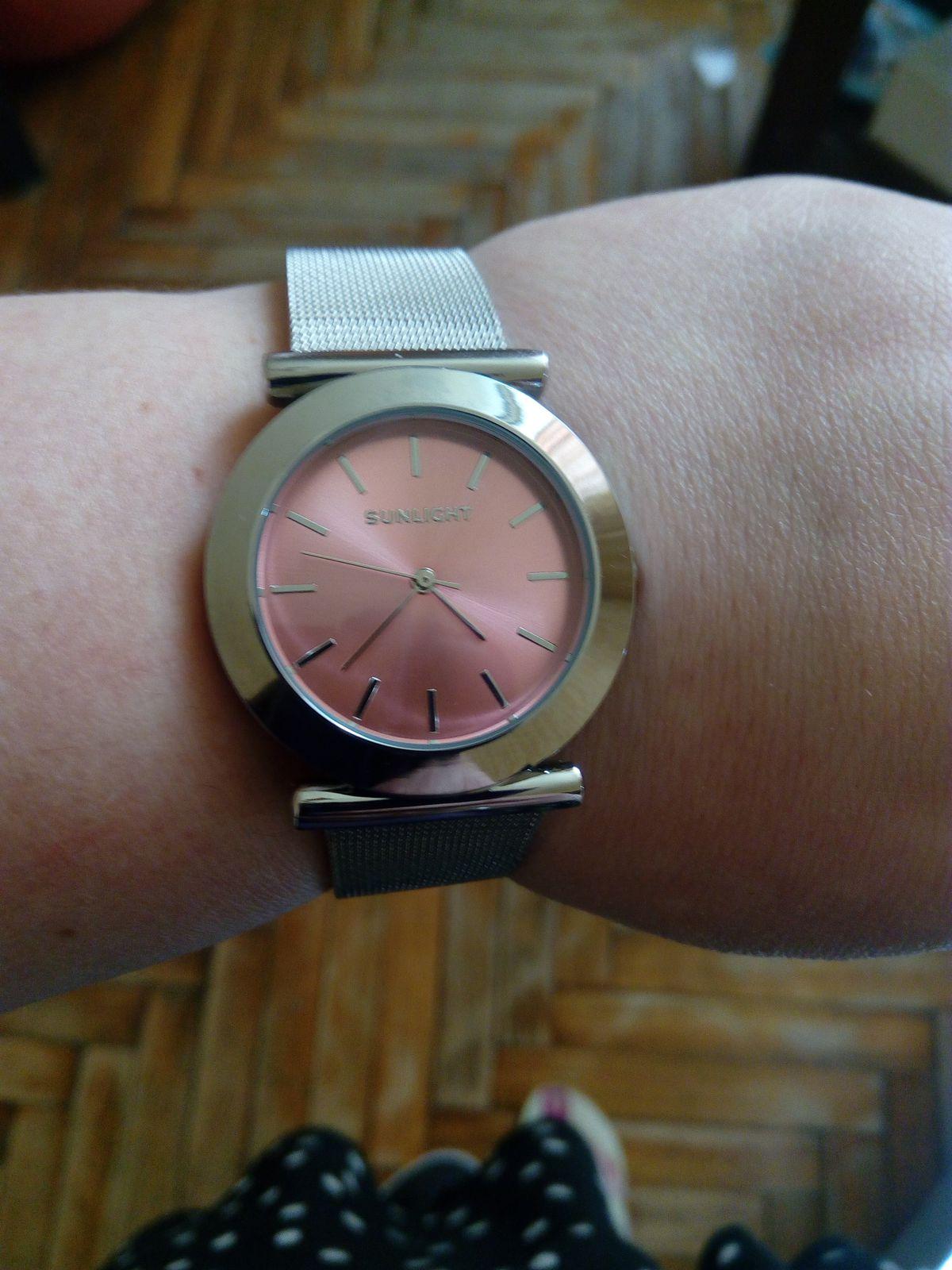 Часы из Охта-молла