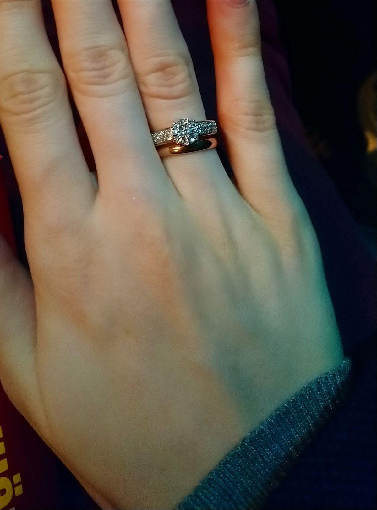 💍 Кольцо с бриллиантами