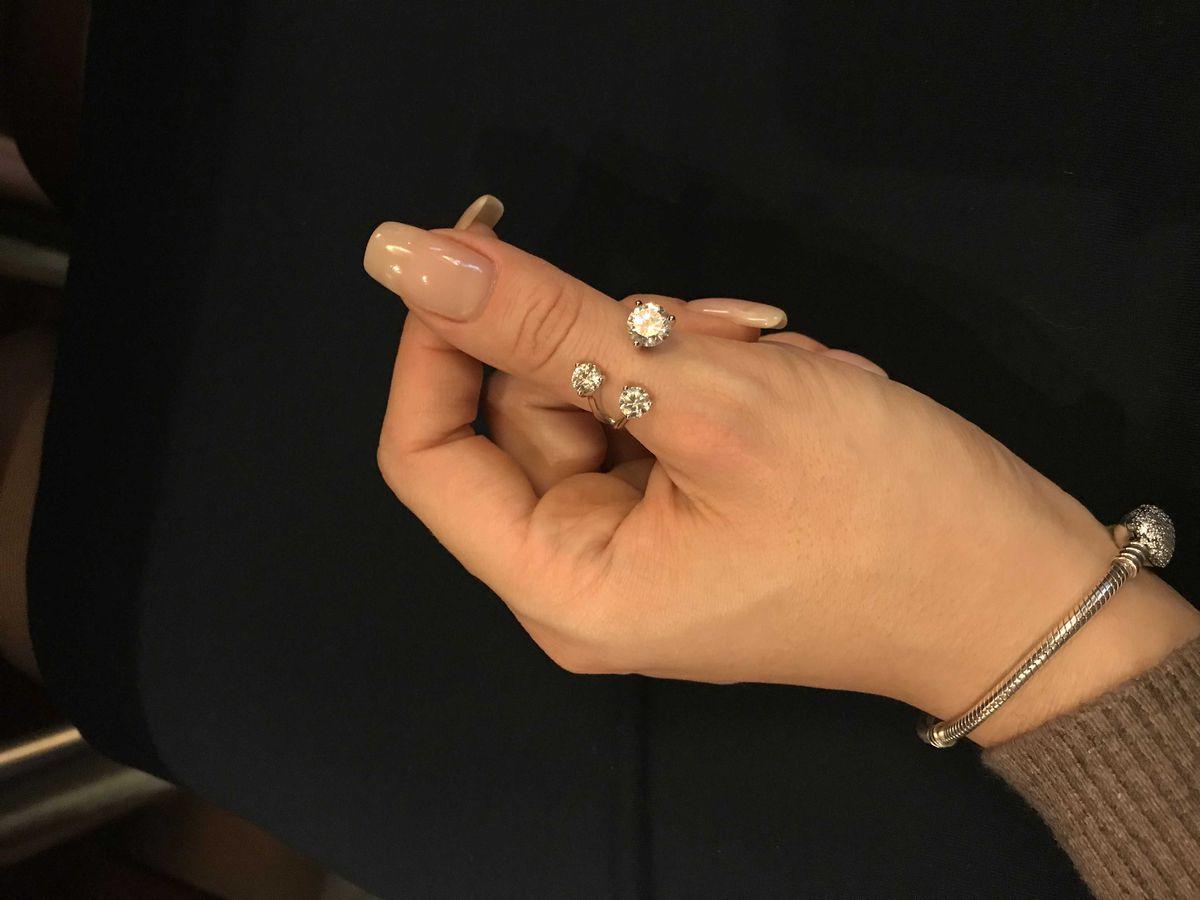 Прекрасное необычное кольцо!