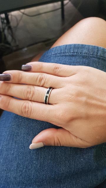 Простое и стильное кольцо