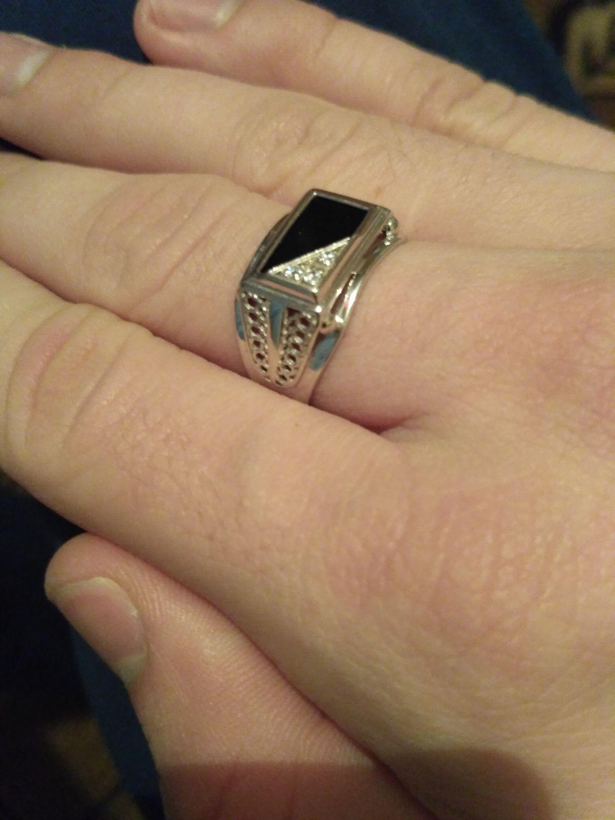 Серебряное кольцо )