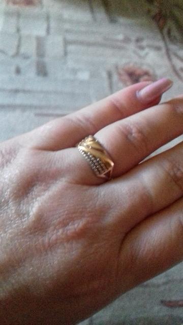 Купила кольцо по акции