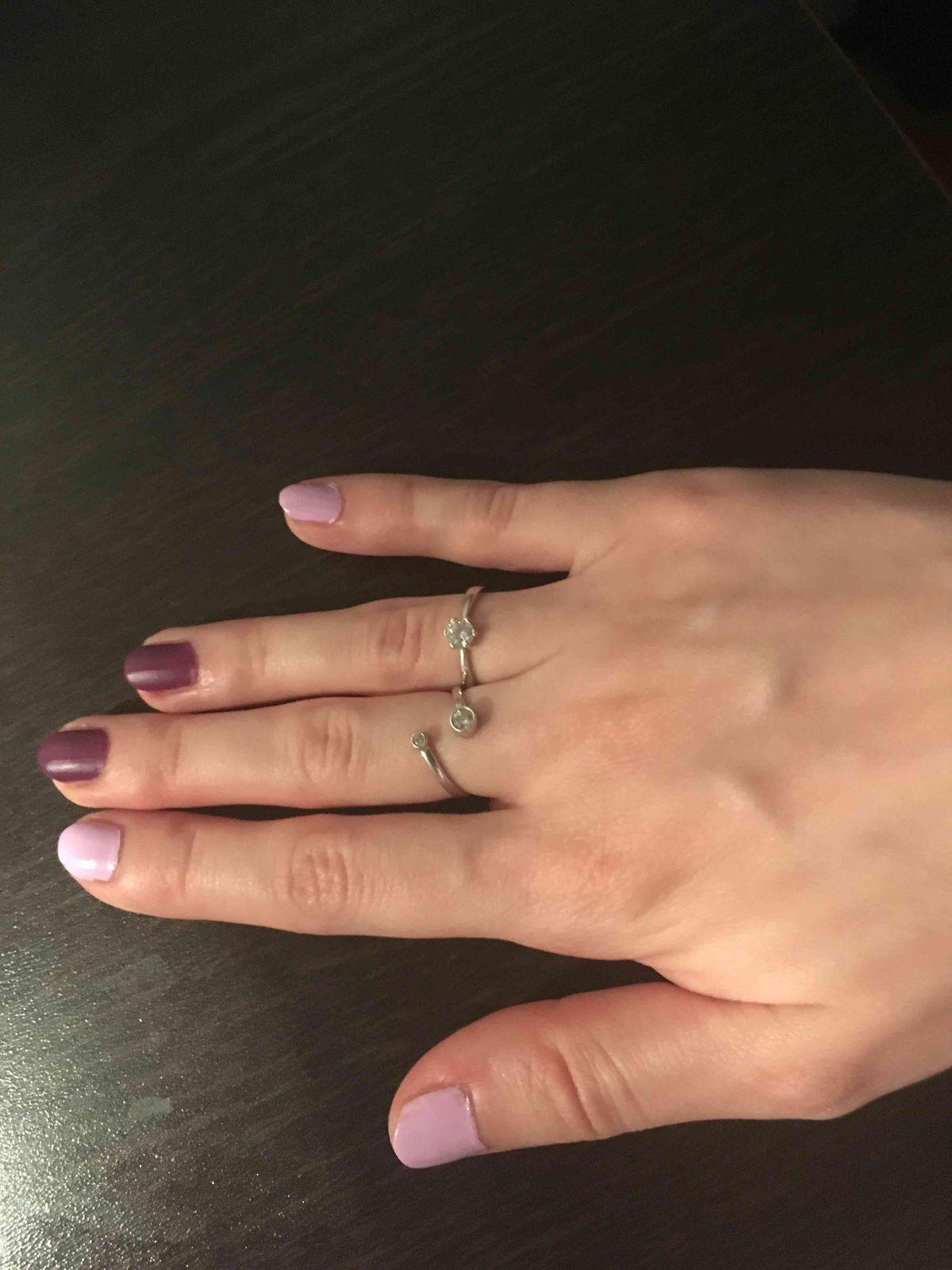 Стильное кольцо и хорошая цена.