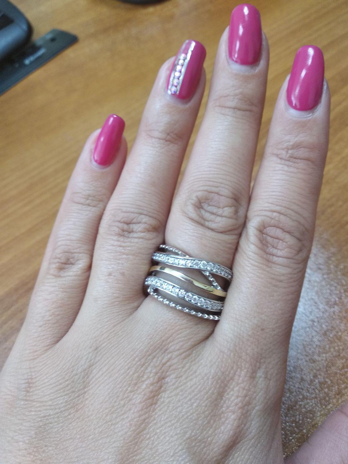 Очень красивое и интересное кольцо!
